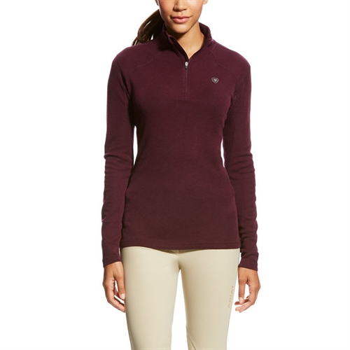 Ariat Cadence Wool 1/4 Zip Merionould Bluse