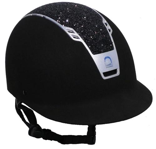 Equipage Priority Glitter Ridehjelm