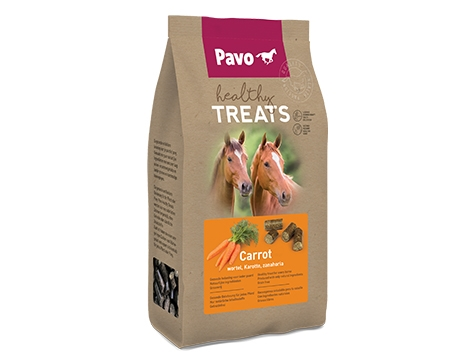 Pavo Healthy Treats - Gulerod, 1 kg