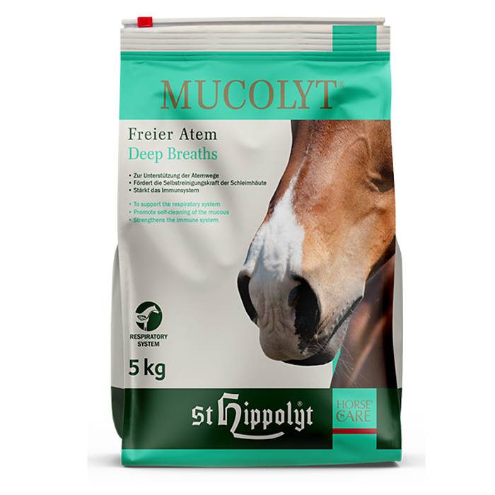St. Hippolyt Mucolyt 5 kg refill-pose