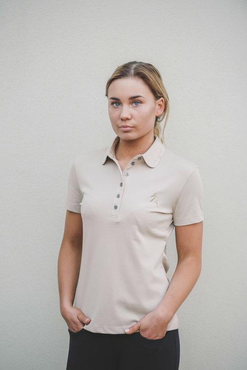 AEquipt Woman Knit Polo