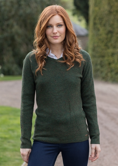 Dubarry Slievebloom v-hals sweater dame