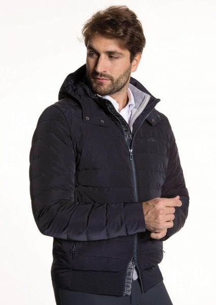 Equiline mens down bomber Yarrow